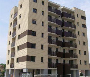 Complesso residenziale Via Triumvirato Bologna